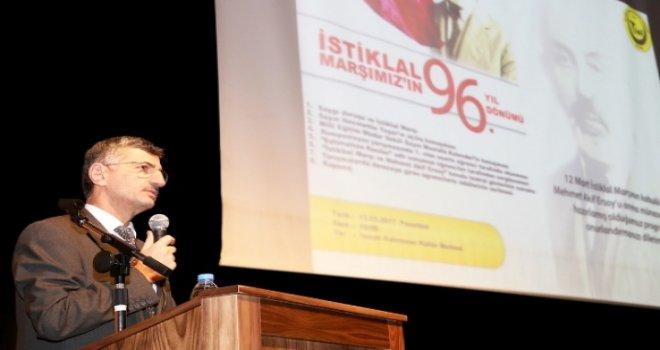 İstiklal Marşının Kabülünün 96.Yıldönümü