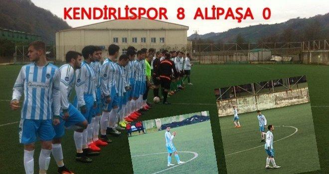 Kendirlispor Alipaşa'yı 8-0 Mağlup Etti