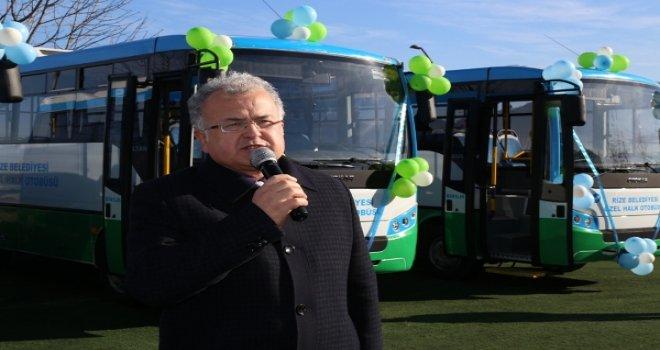 Özel Halk Otobüsler Konforlu Hale Getirildi