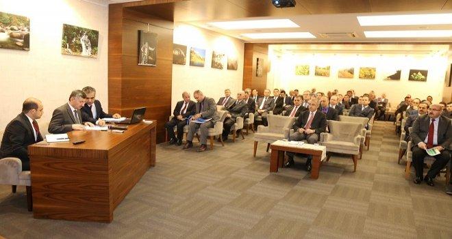 Rize'de kamu Yatırımları Değerlendirildi